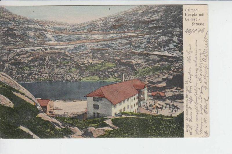 CH 3862 GRIMSEL-HOSPIZ 1906