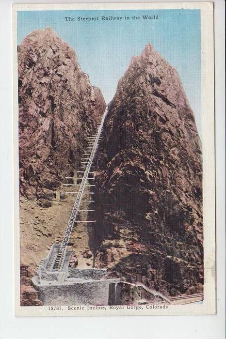 USA - COLORADO - Steepest Railway, Eisenbahn-Steilstrecke