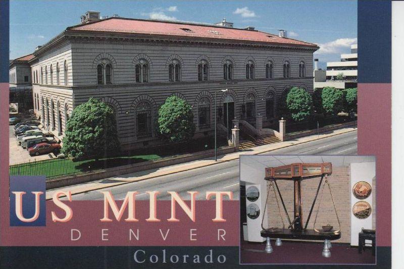 MÜNZEN - US MINT DENVER / Colorado - Münz-Prägeanstalt
