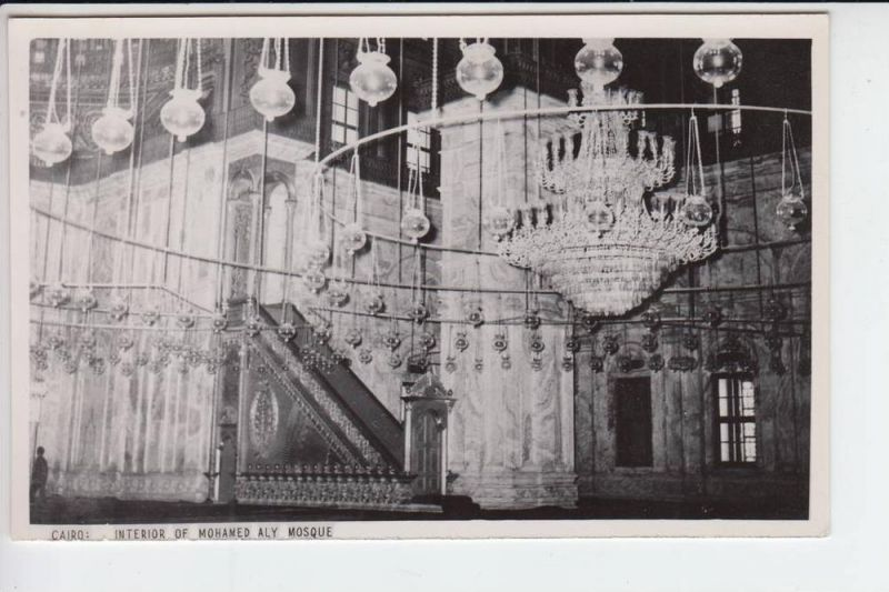 ET - Ägypten - Cairo - Interior of Mohamed Ali Mosque