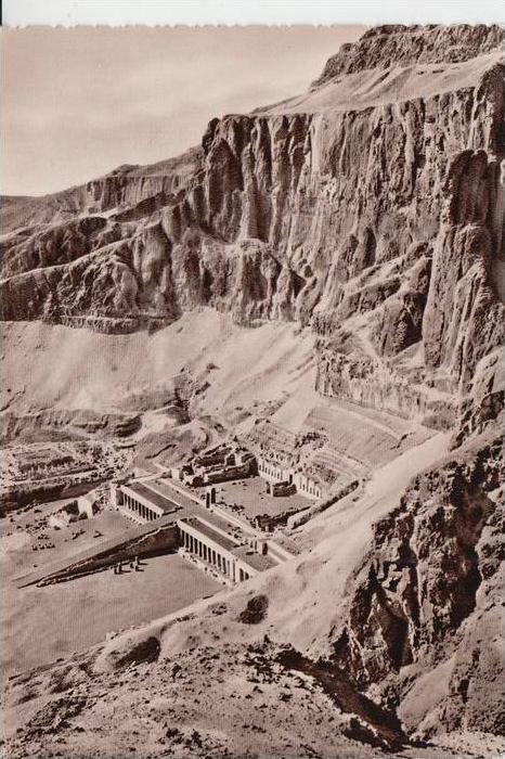 EGYPT - THEBES, Terrassen Tempel Königin Hatshepsut