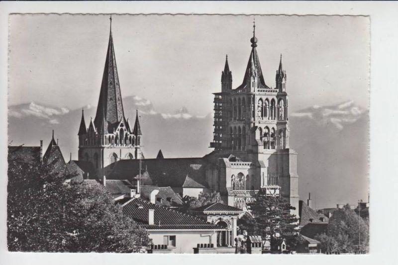 CH 1000 LAUSANNE VD, Le Cathedrale & Les Alpes, 1965