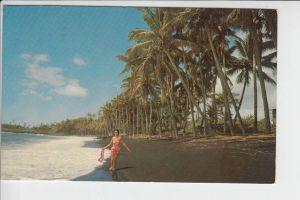 USA - HAWAII - Big Island - Kalapana - Black Sand Beach 1969