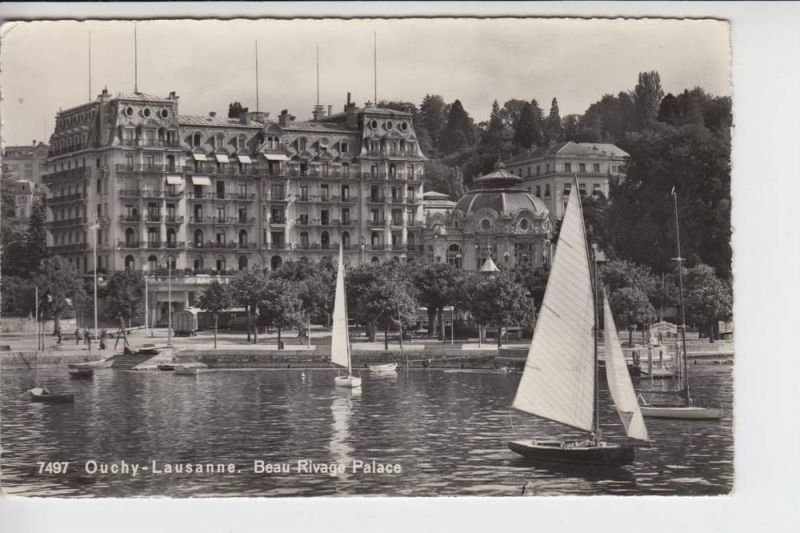 CH 1000 LAUSANNE - OUCHY VD, Hotel Beau Rivage Palace, 195..