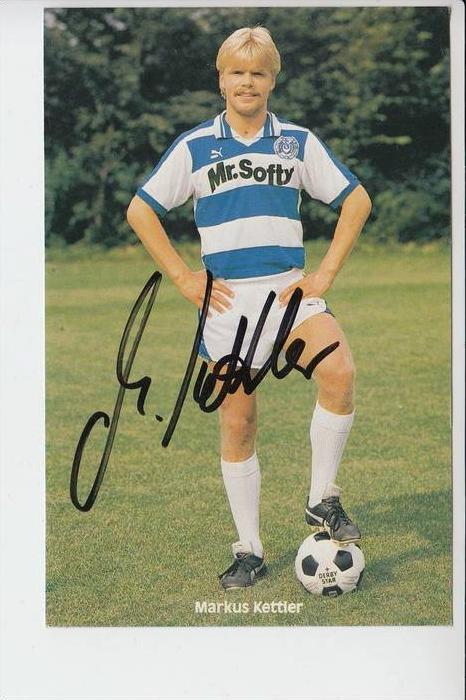 SPORT - FUSSBALL - MSV DUISBURG - MARKUS KETTLER - Autogramm