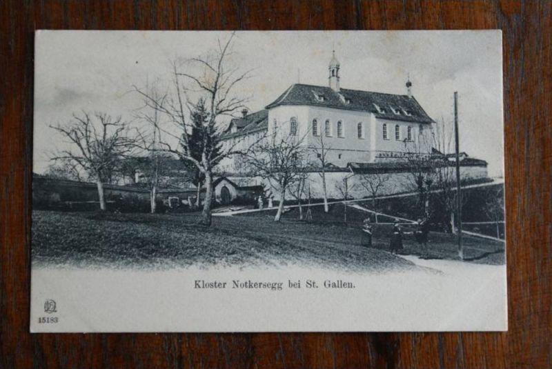 CH 9000 SANKT GALLEN - Kloster Notkersegg