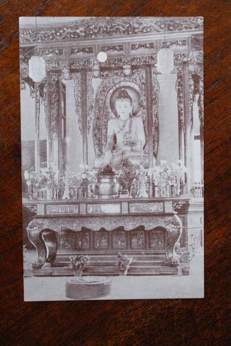 CHINA - SHANGHAI, Jade Buddha in Yufu Monastery