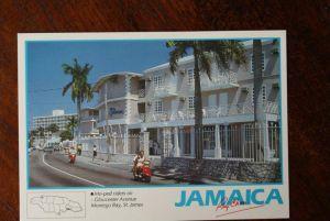 MOTORROLLER - SCOOTER, Moped riders Montego Bay - Jamaica