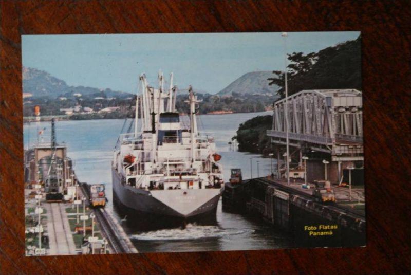 PANAMA - Kanal