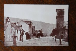 UK - SCOTLAND - CALLANDER - Stirlingshire, Church Street
