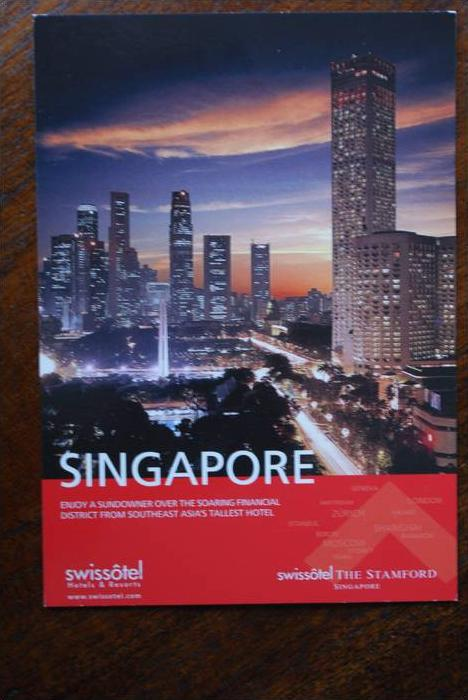 SINGAPORE - SINGAPUR, Swissotel THE STAMFORD