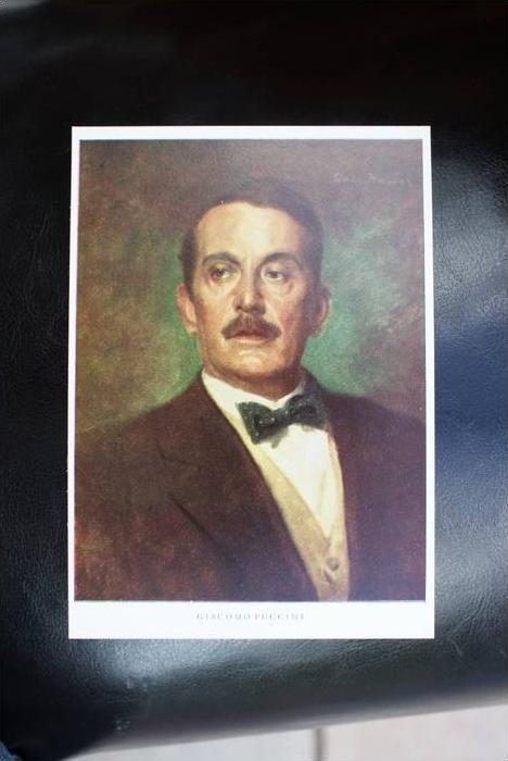 MUSIK - KOMPONIST - Puccini, Gemälde L.Nauer