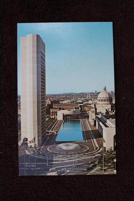 USA - MASSACHUSETTS - BOSTON, First Church of Christ, Scientist