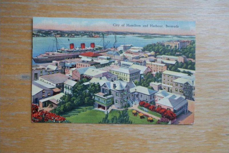 BM - BERMUDA, City of Hamilton and Harbour