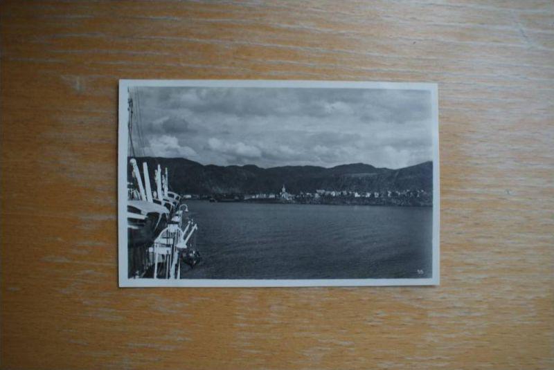N - 9616 HAMMERFEST, Finnmark, Ansicht vom Schiff, 30.Juni 1927