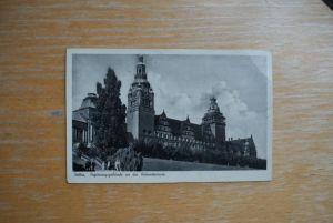 POMMERN - STETTIN - Szczecin Regierungsgebäude an der Hakenterrasse