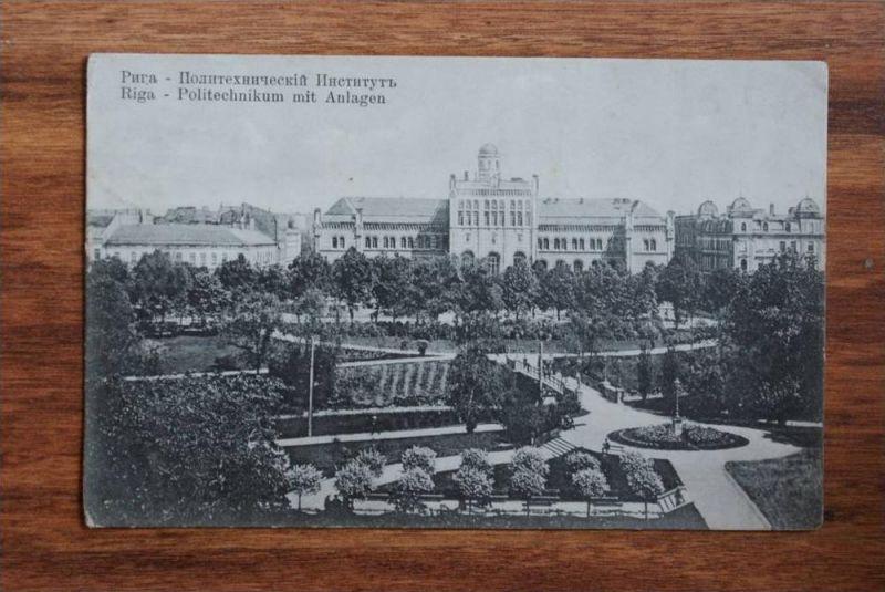 LV - Lettland, RIGA, Polytechnikum