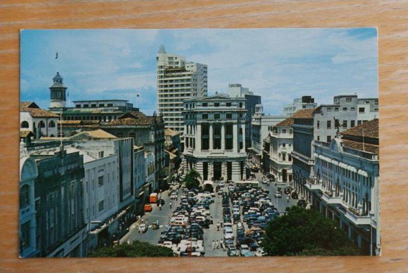 SINGAPORE - SINGAPUR, Raffles Place