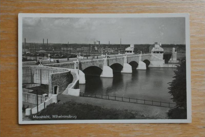 NL - LIMBURG - MAASTRICHT, Wilhelminabrug 1942