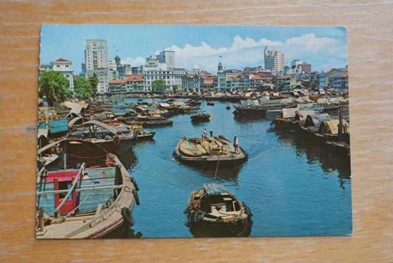 SINGAPORE - SINGAPUR, Singapore River