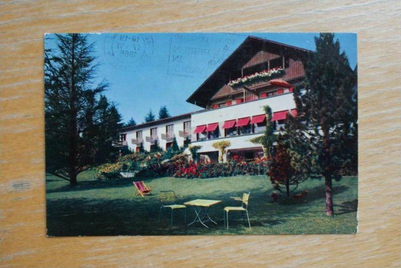 FL - LIECHTENSTEIN, Vaduz - Hotel Sonnenhof, 1966