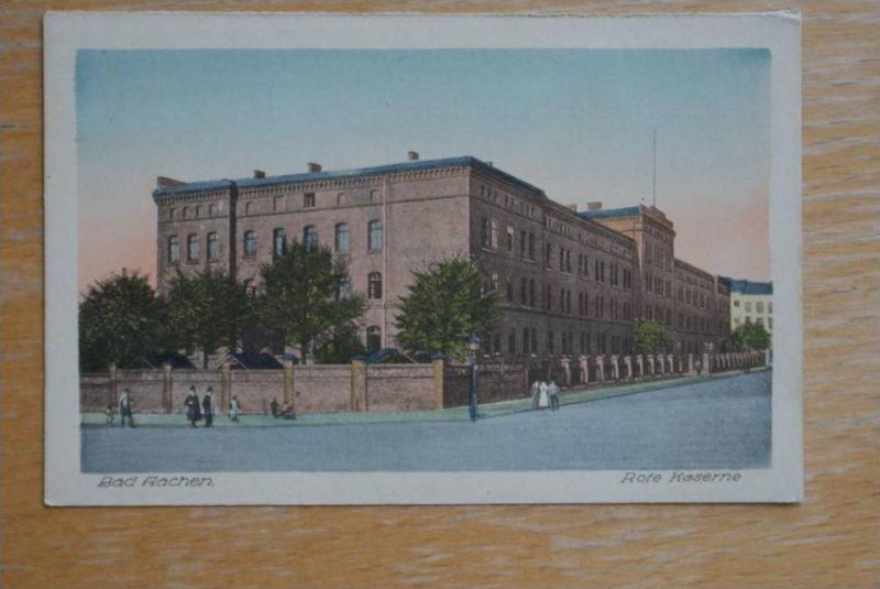 MILITÄR - KASERNE, AACHEN, Rote Kaserne 0