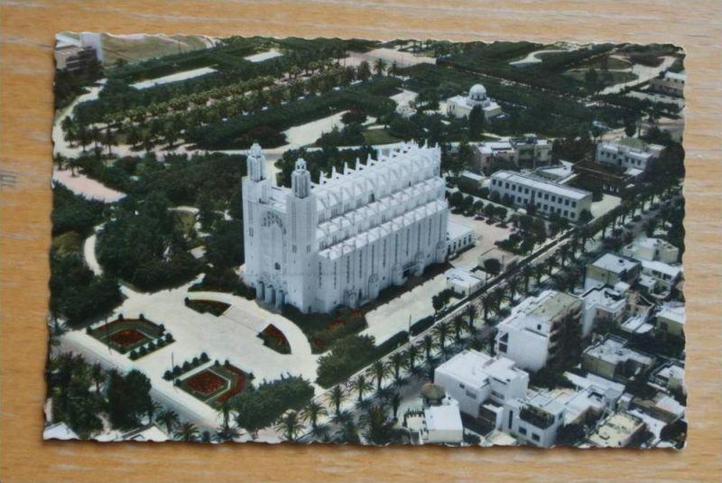 MA - Marokko, Maroc, Casablanca, vue airienne,  Le Sacre-Coeur / Architect: Duhan