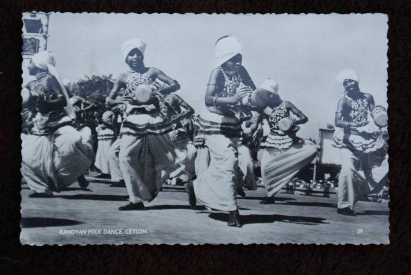 CL - SRI LANKA - CEYLON, Kandyan Folk Dance, Tanz/Music/Völkerkunde - Ethnic
