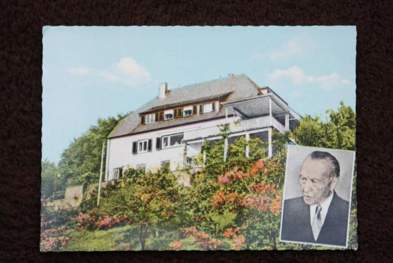 5340 BAD HONNEF - RHÖNDORF, Wohnhaus - Konrad Adenauer