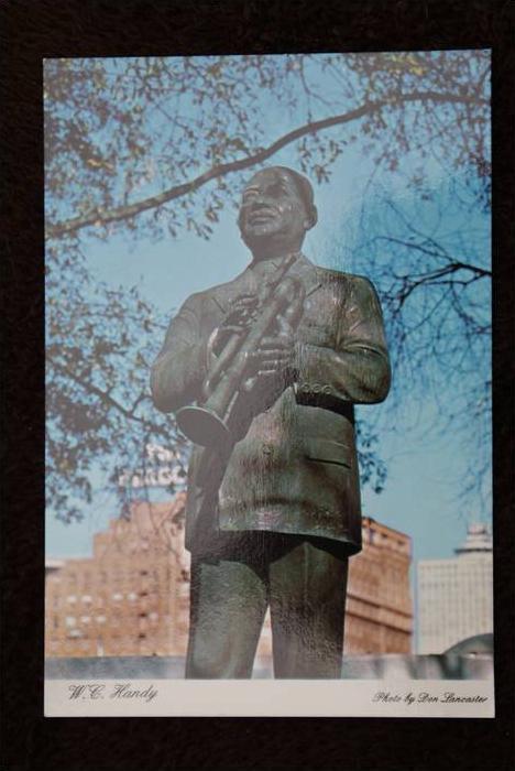 MUSIC - BLUES, Denkmal W.C. Handy, Bluesmusiker, Memphis, TN
