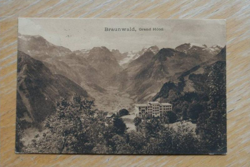 CH 8784 BRAUNWALD - Glarus, Grand Hotel