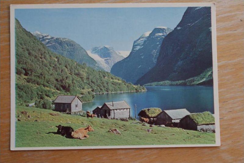 N 6782 STRYN, Loenvatnet, Nordfjord