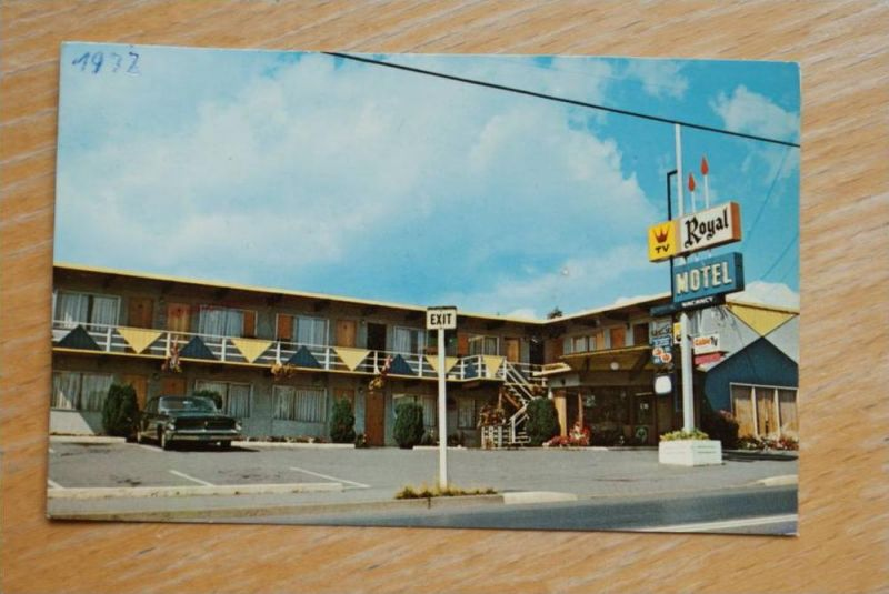 CAN - BRITISH COLUMBIA, Nanaimo, Royal Motel