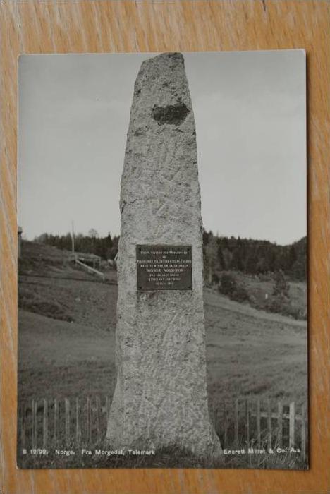 N - 3850 KVITESEID - MORGEDAL, Telemark