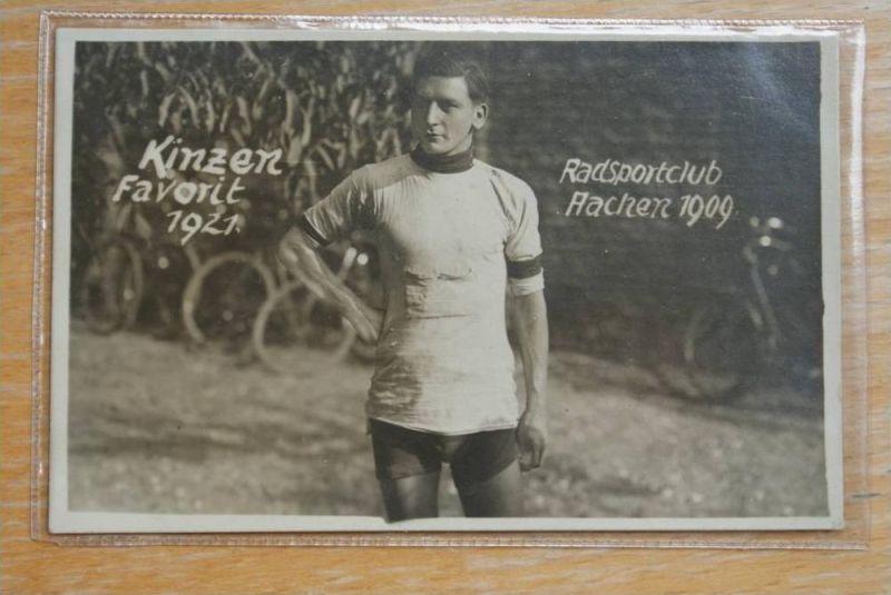 SPORT - RADSPORT - Kinzen, Favorit 1921, Radsportclub Aachen 1909, Cyclisme,