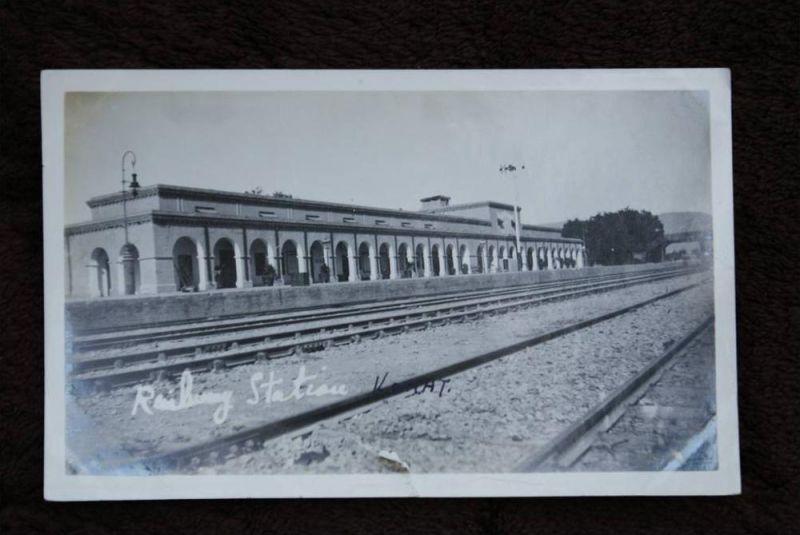 PAKISTAN - KOHAT - Railway Station, Bahnhof - La Gare - Photo - Einriss unterer Rand, cut - AF