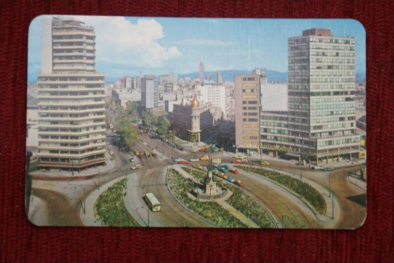 MEX MEXICO CITY - View from Columbus Circle