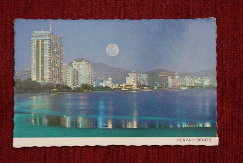 MEX ACAPULCO, Playa Hornos Night View