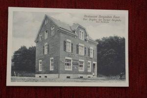 5600 WUPPERTAL, Restaurant Bergisches Haus, Station Birgden der Barmer Bergbahn - sehr gute Erhaltung