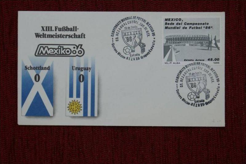 SPORT - FUSSBALL - WM 1986  SCHOTTLAND - URUGUAY   0 : 0