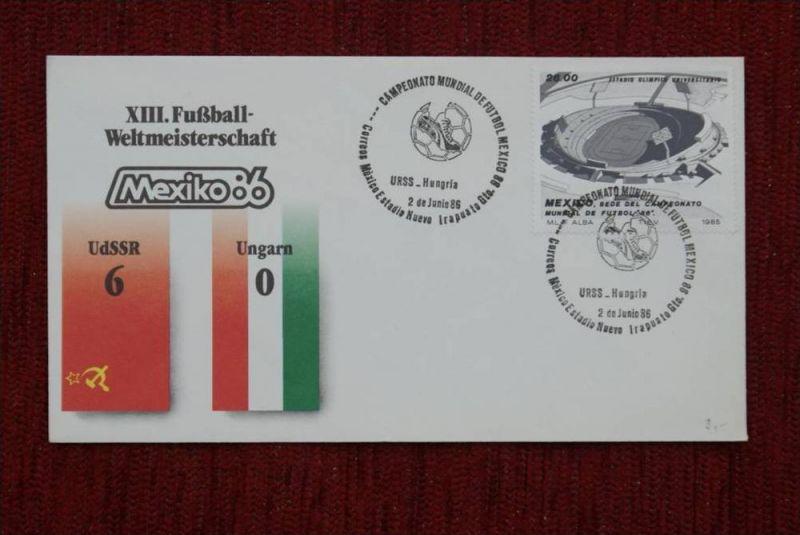 SPORT - FUSSBALL - WM 1986  UDSSR - UNGARN   6 : 0