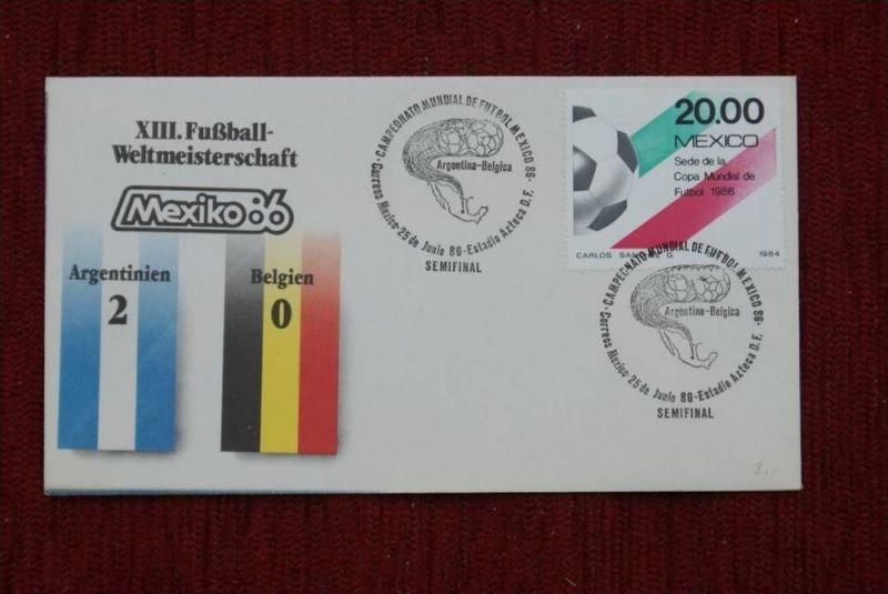 SPORT - FUSSBALL - WM 1986  ARGENTINIEN - BELGIEN   2 : 0