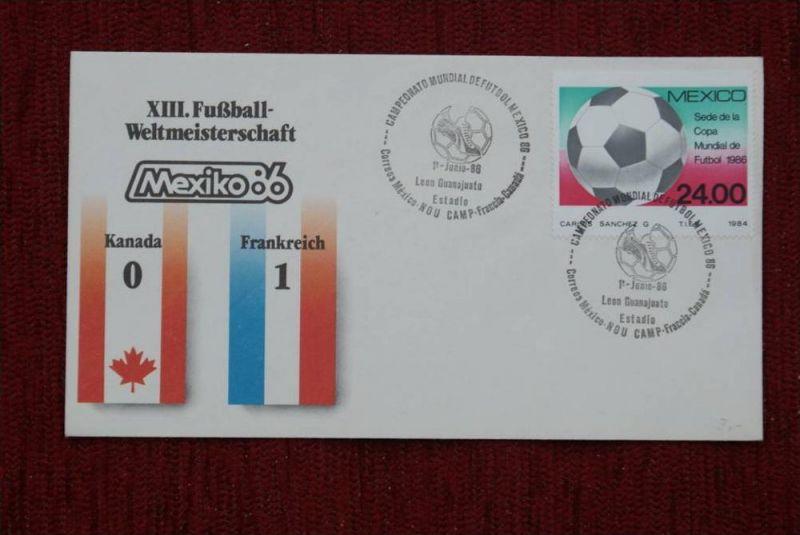 SPORT - FUSSBALL - WM 1986  KANADA - FRANKREICH   0 : 1