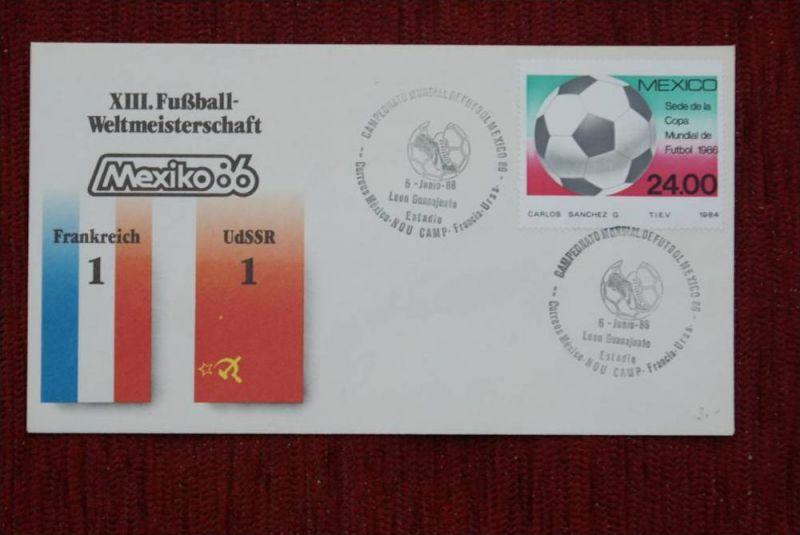 SPORT - FUSSBALL - WM 1986  FRANKREICH - UDSSR   1 : 1
