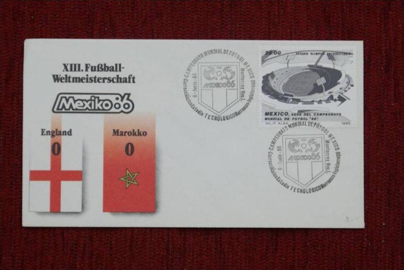 SPORT - FUSSBALL - WM 1986  ENGLAND - MAROKKO   0 : 0