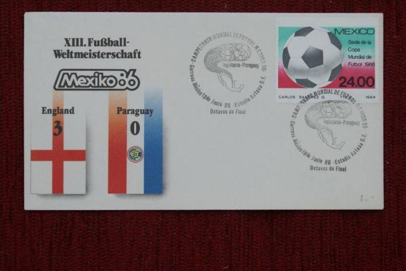 SPORT - FUSSBALL - WM 1986  ENGLAND - PARAGUAY   3 : 0