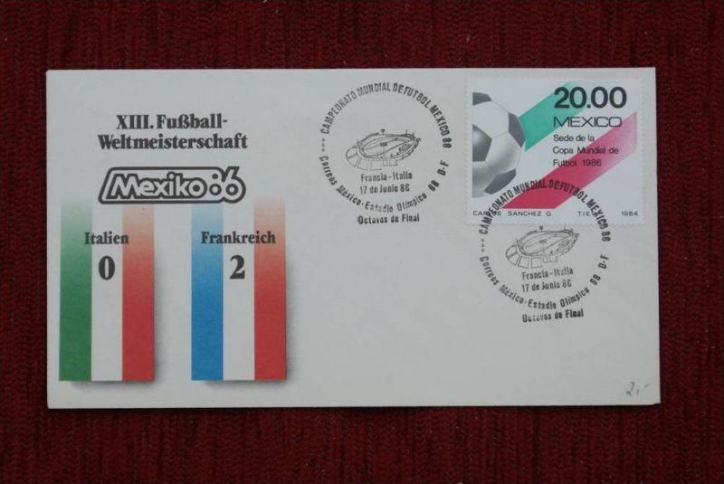 SPORT - FUSSBALL - WM 1986  ITALIEN - FRANKREICH   0 : 2