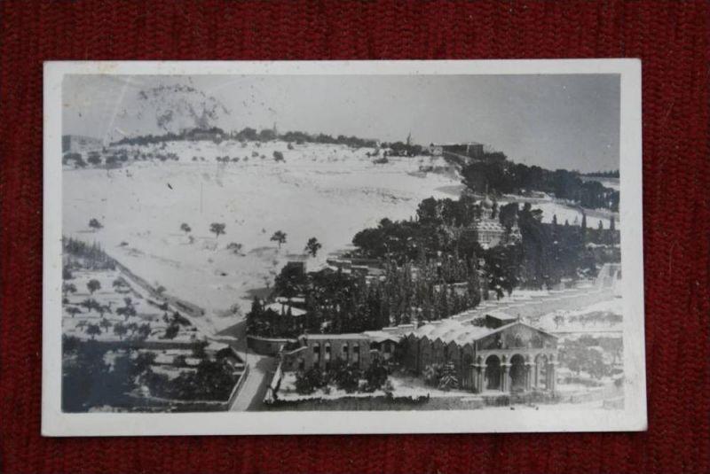 JORDAN / JORDANIEN, Mount of Olives - Ostjerusalem, 1952, Ed.: Leon-Jerusalem