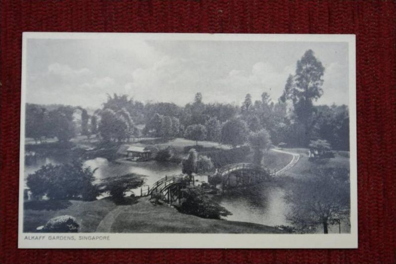 SINGAPORE - SINGAPUR, Alkaff gardens