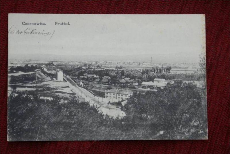 UKRAINE - CZERNOWITZ, Pruttal, Bukowina, 1.Weltkrieg 1917, Hrsg. Tennebaum-Czernowitz